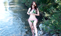 Crazy as hell brunette Shanda Fay is giving an outdoor head
